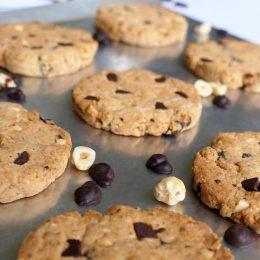 Chocolate Chip and Hazelnut Cookies